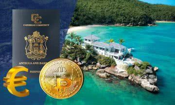 Теперь паспорт Антигуа и Барбуды можно купить за криптовалюту и евро
