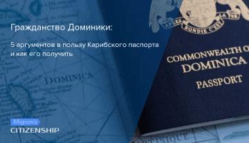 Гражданство Доминики: 5 аргументов в пользу Карибского паспорта и как его получить