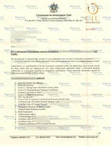 Confirmation of documents_Saint Kitts_Migronis