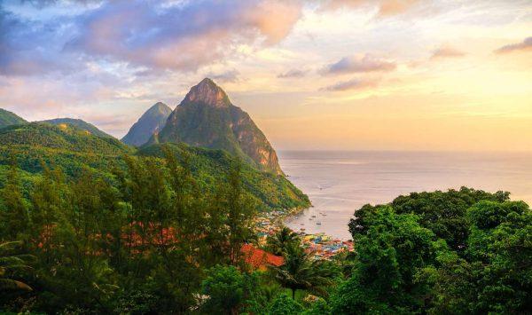 Гражданство Сент-Люсии: варианты покупки паспорта на Карибах