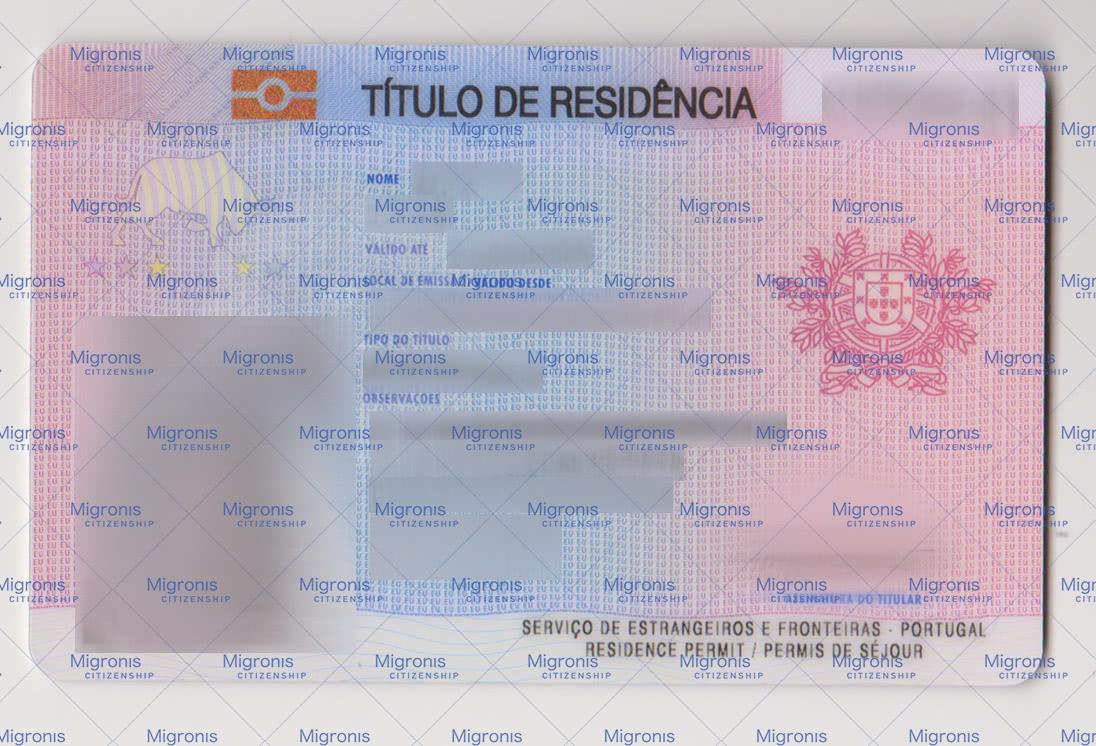 Portugal permit - Migronis
