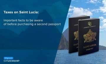 Taxes on Saint Lucia: Important facts to be aware of before purchasing a second passport