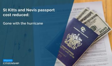 St Kitts and Nevis Passport Cost Reduced: gone with the hurricane