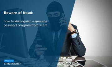 Beware of fraud: how to distinguish a genuine passport program from scam?