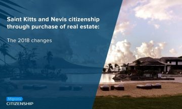 Saint Kitts and Nevis citizenship through purchase of real estate: The 2018 changes