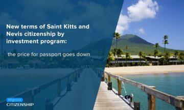 New terms of Saint Kitts and Nevis citizenship by investment program: the price for passport goes down