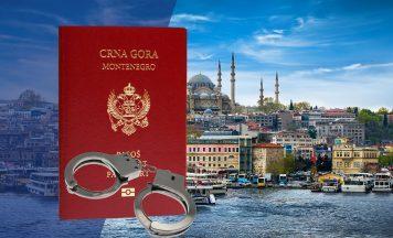 Мошенники продали сотни поддельных паспортов Черногории в Стамбуле