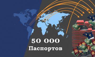 Более 50 тысяч паспортов<br>было выдано по программам «гражданство за инвестиции»