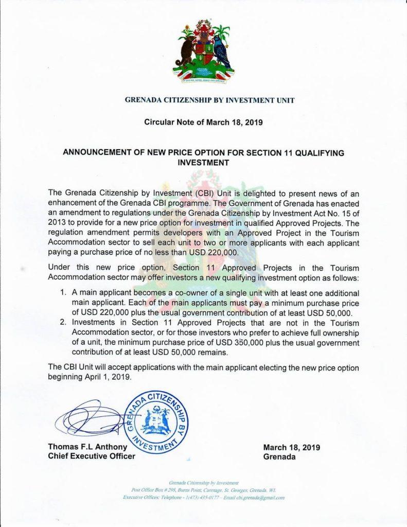 Гренада снизила минимальную сумму инвестиции в недвижимость до $220 тыс. - grenada snizila minimalnuju summu investicii v nedvizhimost do 220 tys.