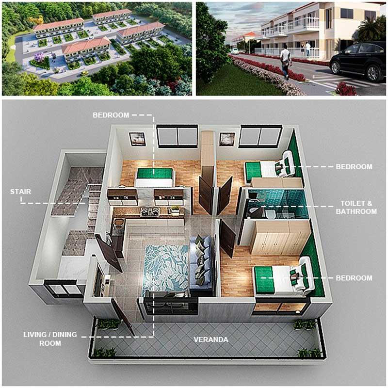 Проект Grand Bay Housing