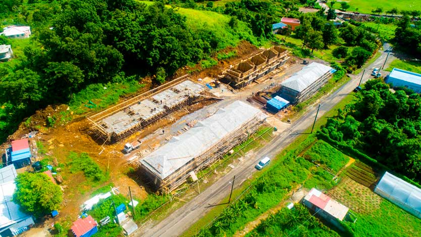 Строительство Grand Bay Housing