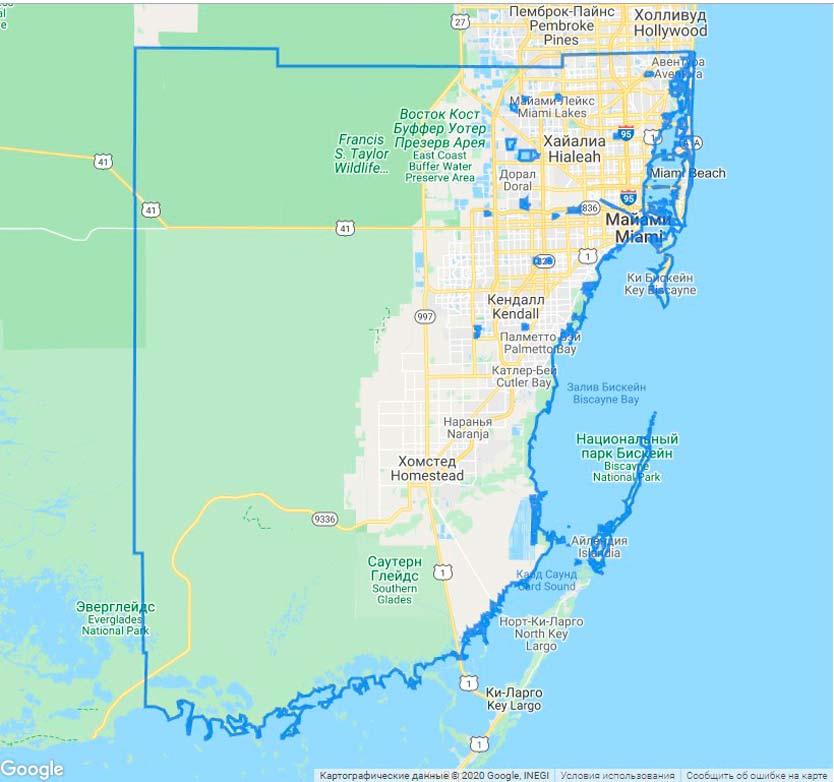 Майами-Дейд – округ в штате Флорида