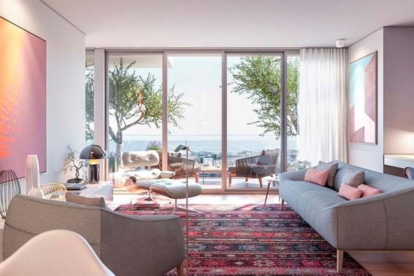 Пример апартаментов в Parque das Nações
