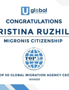 TOP 50 Global Migration Agency CEOs