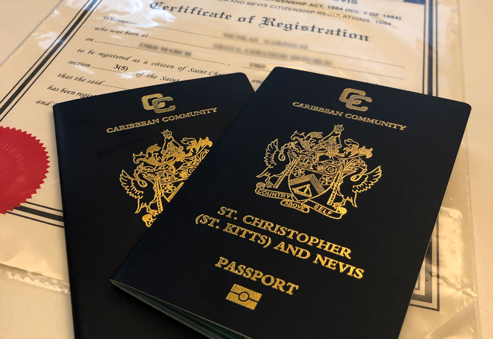 паспорт гражданина Сент-Китс и Невис, гражданство Сент-Китс и Невис, гражданство Сент-Китс и Невис за инвестиции.