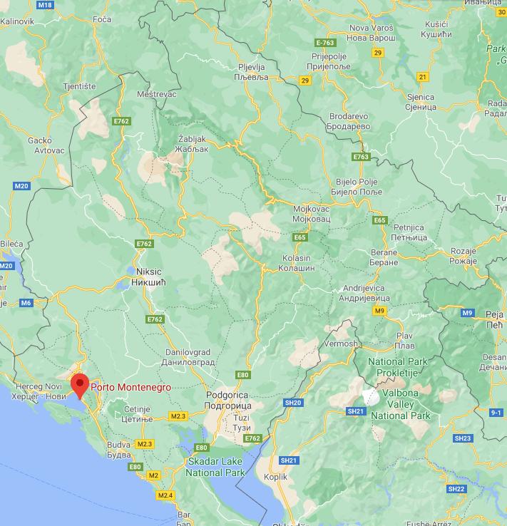 Бока Плейс - Черногория