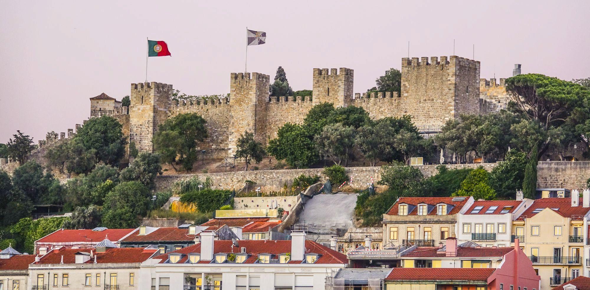 Лиссабон - замок