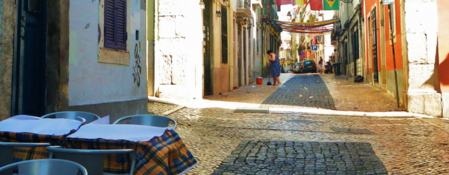 Улицы Лиссабона - Португалия