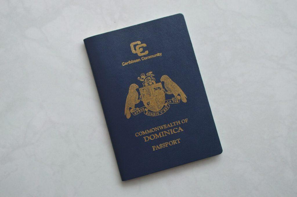 Так выглядит паспорт Доминики, обеспечивающий безвизовый въезд в 140+ стран мира