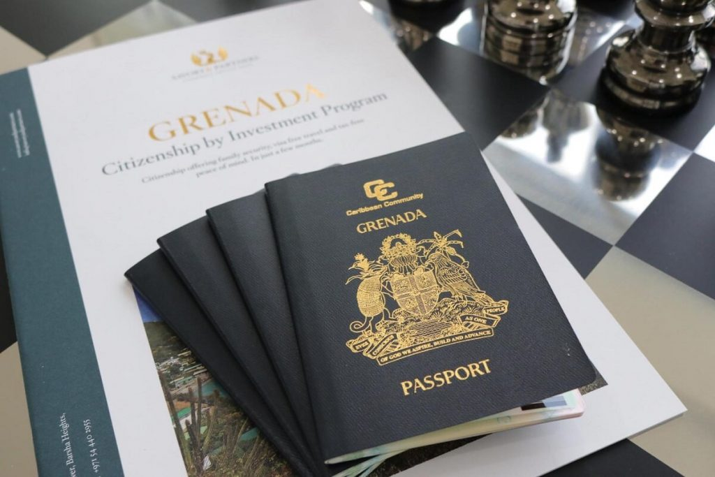 Паспорт Гренады — с ним вы сможете посещать без виз более 140 стран