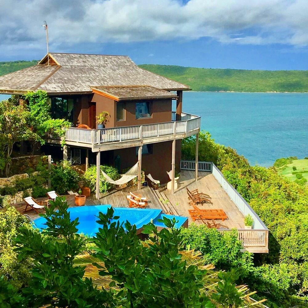 Недвижимость на Карибах — красивые дома в Антигуа и Барбуде