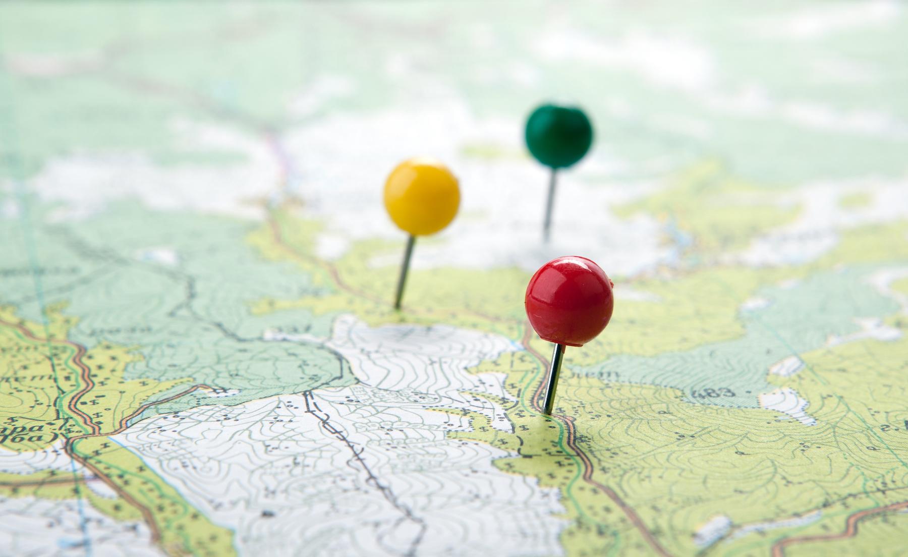 Теория флагов - карта
