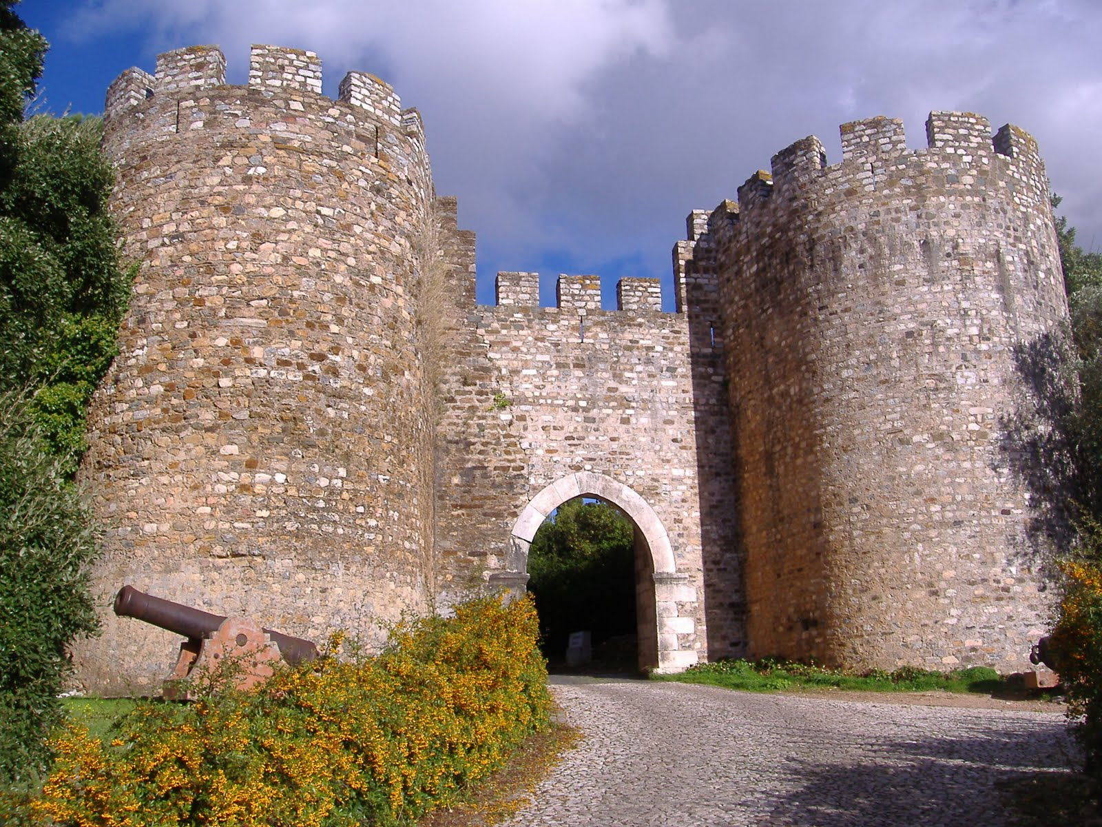 Королевский замок Вила Висоза