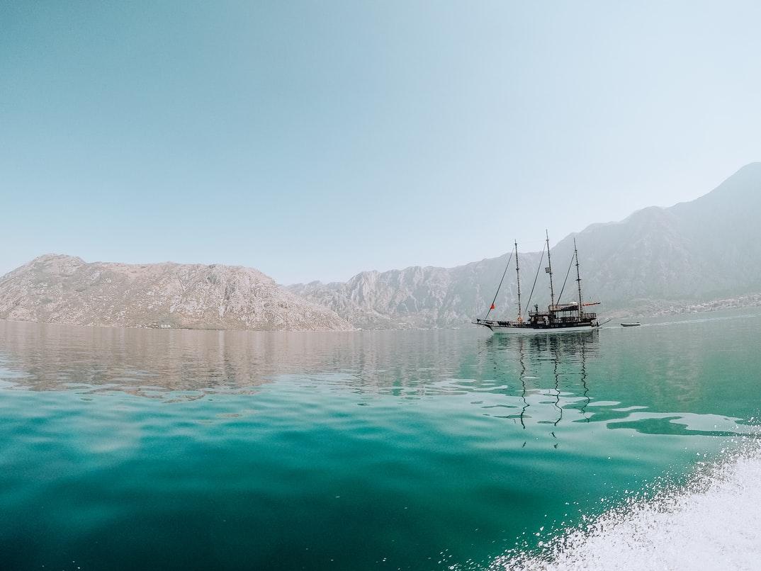 Adriatic Sea near Montenegro